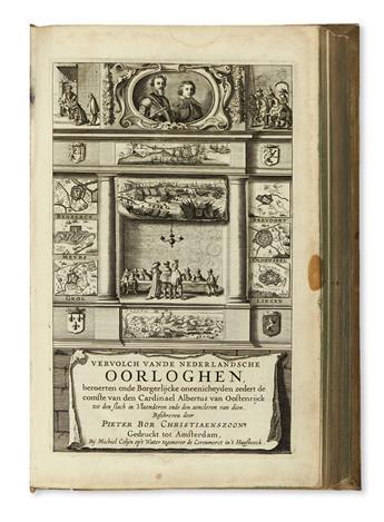 BOR, PIETER. Vervolch van de Nederlandsche Oorloghen.  1634?