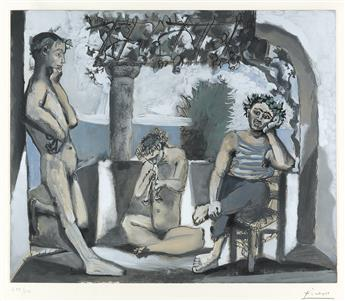 PABLO PICASSO (after) Bacchanale