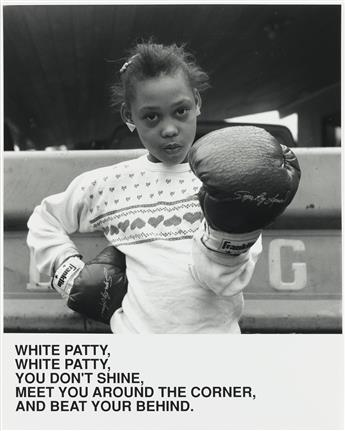 CARRIE MAE WEEMS (1953 -  ) White Patty, White Patty, You Dont Shine, Meet You Around the Corner, And Beat Your Behind.