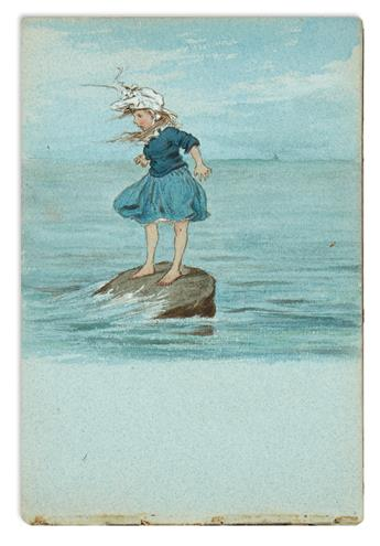 (CHILDRENS LITERATURE.) PYM, CLARA CREED. Small archive