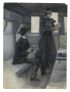 BENJAMIN WEST CLINEDINST Conversation in a Train Berth.