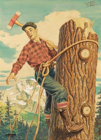 AL SIMPKIN. Timber!