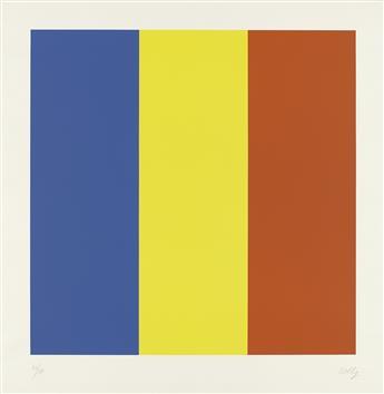 ELLSWORTH KELLY Blue/Yellow/Red.
