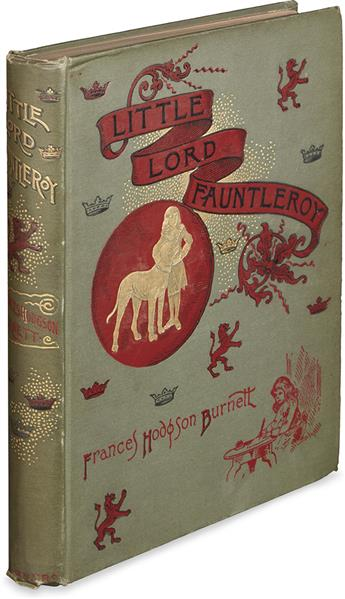 (CHILDRENS LITERATURE.) BURNETT, FRANCES HODGSON. Little Lord Fauntleroy.