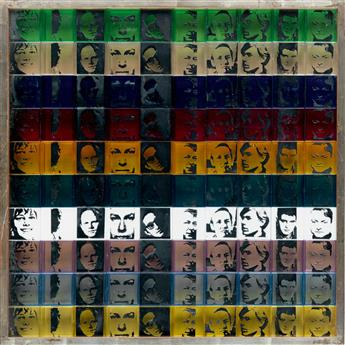 ANDY WARHOL Portraits of the Artists.