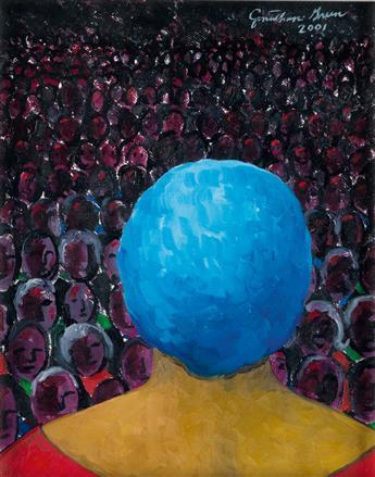 JONATHAN GREEN (1955 -   ) The Perfomance.