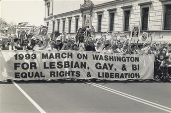 FRED W. MCDARRAH (1926-2007)  1993 March on Washington.
