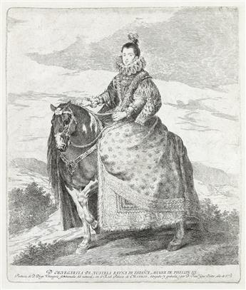 FRANCISCO JOSÉ DE GOYA Margarita de Austria.