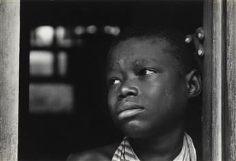 W. EUGENE SMITH (1918-1978) Boy crying.