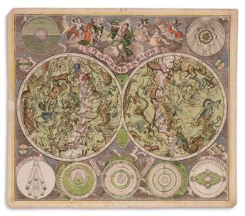 (CELESTIAL.) Seutter, Matthaeus. Planisphaerium Coeleste.