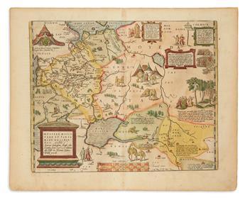 ORTELIUS, ABRAHAM. Russiae, Moscoviae et Tartariae Descriptio.