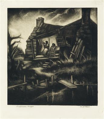 DOX THRASH (1893 - 1965) Cabin Days.