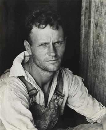 (WALKER EVANS) (1903-1975) Floyd Burroughs, Hale County, Alabama.