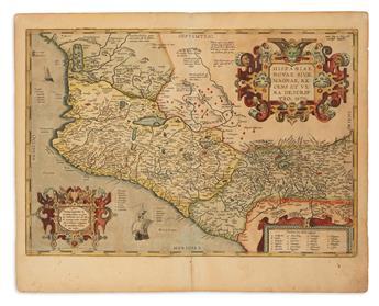 ORTELIUS, ABRAHAM. Hispaniae Novae Sivae Magnae, Recens et Vera Descriptio.