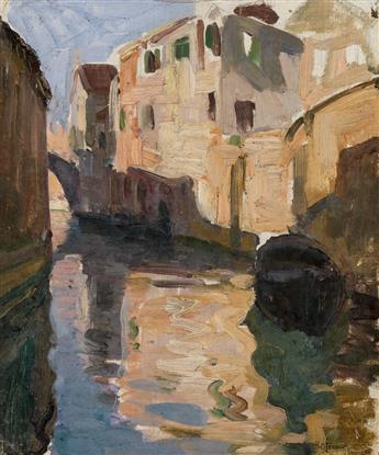 HENRY OSSAWA TANNER (1859 - 1937) Venice.