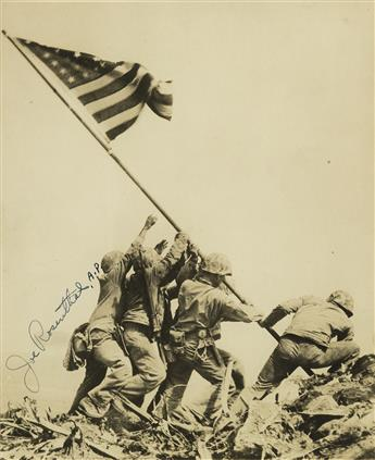 JOE ROSENTHAL (1911-2006) Raising the Flag on Iwo Jima.