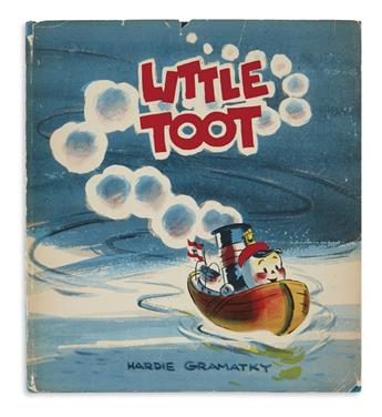 (CHILDRENS LITERATURE.) GRAMATKY, HARDIE. Little Toot.