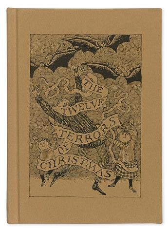 GOREY, EDWARD. Updike, John. The Twelve Terrors of Christmas.