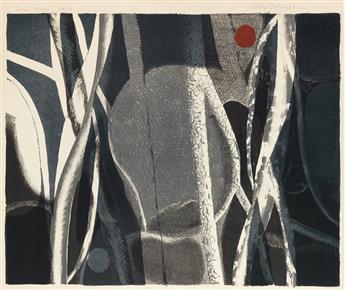 ROBERT BLACKBURN (1920 - 2003) Sun-Moon.