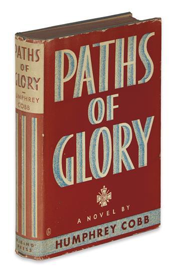 COBB, HUMPHREY. Paths of Glory.