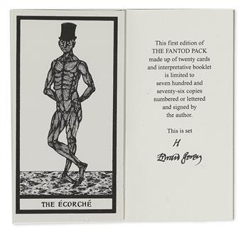 GOREY, EDWARD. The Fantod Pack. Interpreted by Madame Groeda Weyrd.
