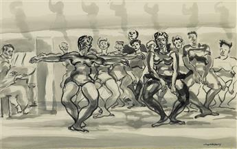 JOSEPH DELANEY (1904 - 1981) Untitled (Dance Rehearsal).