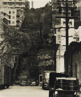 MAX YAVNO (1911-1985) Telegraph Hill, San Francisco.