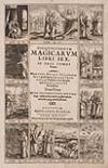 DEL RÍO, MARTÍN ANTONIO. Disquisitionum magicarum libri sex, in tres tomos partiti.  1603