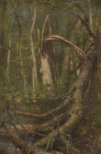 WORTHINGTON WHITTREDGE The Fallen Oak.