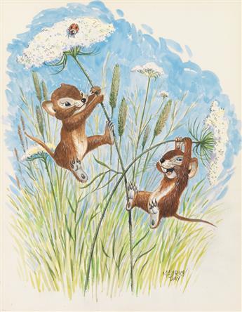 MAURICE DAY. Swinging Wood Mice.