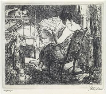 JOHN SLOAN The Womens Page.