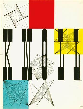 HERBERT MATTER (1907-1984). KNOLL. 1948. 18x13 inches, 45x35 cm.