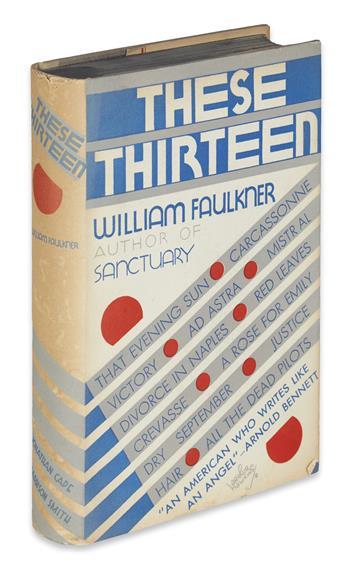 FAULKNER, WILLIAM. These Thirteen.