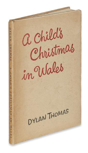 THOMAS, DYLAN. A Childs Christmas in Wales.