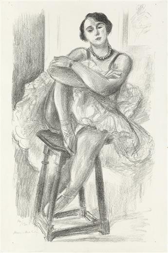 HENRI MATISSE Danseuse au Tabouret.