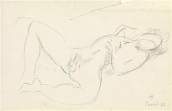 DUNCAN GRANT (1885-1978)  Two Sketches.