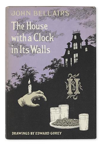 (GOREY, EDWARD.) Bellairs, John; Strickland, Brad. Group of 21 titles illustrated by Gorey.