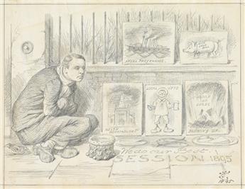 JOHN TENNIEL. Pity the Poor Artist.