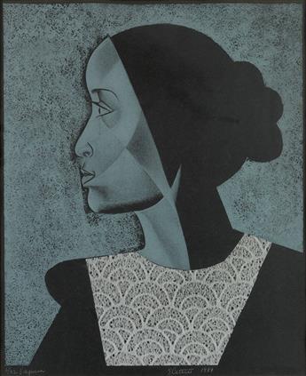 ELIZABETH CATLETT (1915 - 2012) Virginia.
