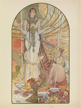 VARIOUS ARTISTS. LESTAMPE MODERNE. Complete volume of 100 plates. 1897-1899. Sizes vary, each approximately 16x12 inches, 40x30 cm. F.