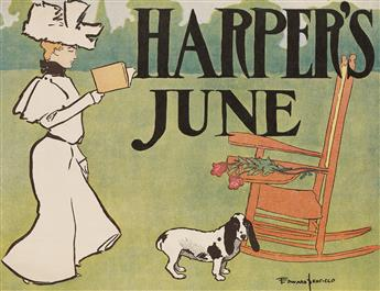 EDWARD PENFIELD (1866-1925). HARPERS JUNE. 1897. 14x18 inches, 36x47 cm.