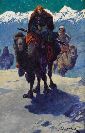 STANLEY L. WOOD. The Long Trail.