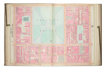 SMITH, ELVINO. Atlas of the 6th, 9th & 10th Wards of the City of Philadelphia.