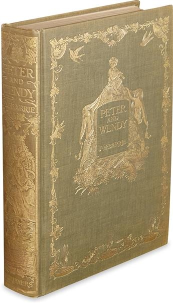 (CHILDRENS LITERATURE.) BARRIE, J.M. Peter and Wendy.