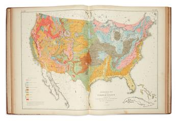 WALKER, FRANCIS. Statistical Atlas of the United States Based on the Results of the Ninth Census 1870.