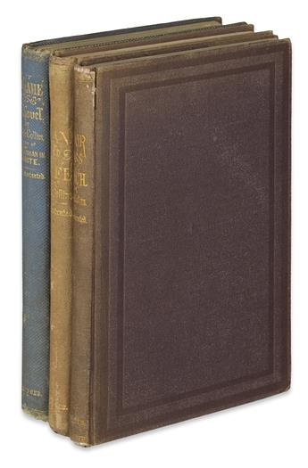 COLLINS, WILKIE. Group of 3 First American Editions.