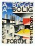 IB ANDERSEN (1907-1969) BYGGE OG BOLIG. 1929. 32x24 inches. Chr. Cato, Copenhagen.