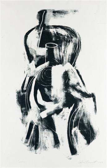 CALVIN BURNETT (1921 - 2007) Chair.