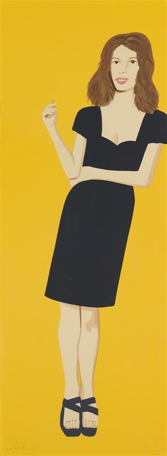 ALEX KATZ Black Dress 2 (Cecily).