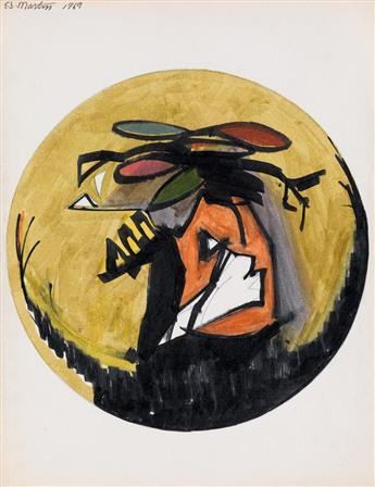 EUGENE J. MARTIN (1938 - 2005) Untitled.